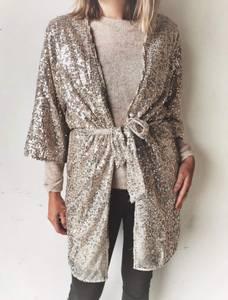 Bilde av Sand/sølv Slflucille Kimono