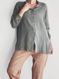 Bilde av Army - Lazy Bomull Skjorte